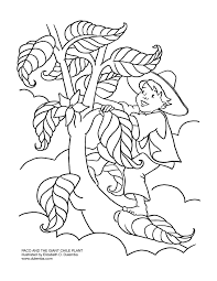 dot to dot jack beanstalk coloring page coloring page
