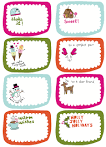 Frugal Life Project: Free Printable Gift Tags!