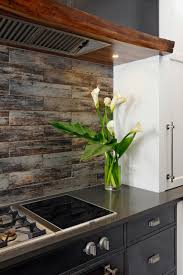 Rustic Kitchen Backsplash Contemporary Kitchen With Custom Details Steel Panels Rustic
