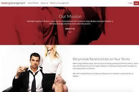 The Seeking Arrangement dating website  ABC