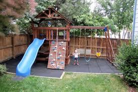 safe play tiles diy playground playground and backyard