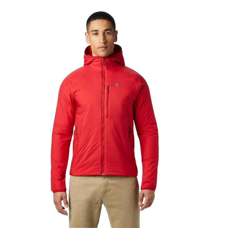 Mountain Hardwear Kor Strata Hooded Jacket Racer Large 1851471637-L
