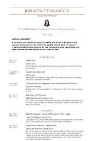 Sample Resume For Customer Service Representative Telecommunications by Data Entry Resume Samples Visualcv Resume Samples Database