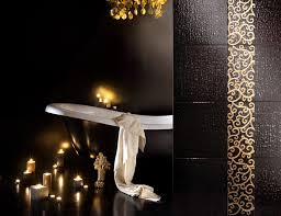 24k gold glass hand painted mosaic tiles u2026 for your bathroom room