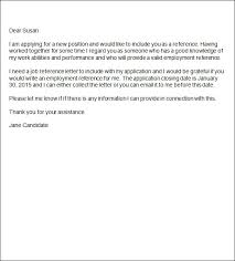 Sample letter Template of Recommendation from former Employee