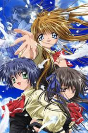 Yukito Kunisaki is on a journey in search of the Winged Maiden who was bound to the sky centuries ago  after hearing an old childhood tale from his mother