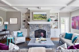 Contemporary Family Home Designed For Entertaining Claire Paquin - Contemporary family room design