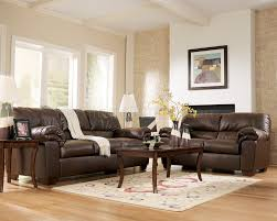 living dark brown leather sofa ideas also living room color