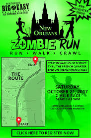 krewe of boo hosts zombie run and monster mash for halloween