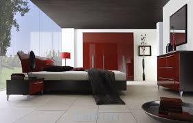 marvelous red bedroom designs