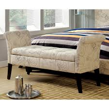 skyline zig zag grey and white upholstered storage bench hayneedle
