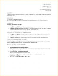 Cover Letter For Resume Examples For Students by How To Write A Resume With Little Or No Job Experience No Work How
