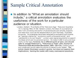How to Prepare an Annotated Bibliography  WHAT IS AN ANNOTATED BIBLIOGRAPHY  An annotated bibliography