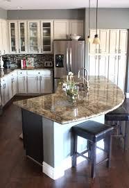 Eat In Kitchen Ideas Kitchen Islands 15 Stylist Ideas Eat In Island With Tan Granite