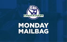 canucks army monday mailbag september 25th u2013 canucksarmy