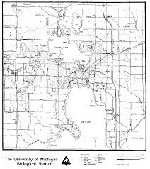 Map Of University Of Michigan by Biosphere Reserves