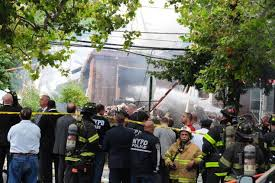 Bronx marijuana grow house explosion kills fire chief  injures