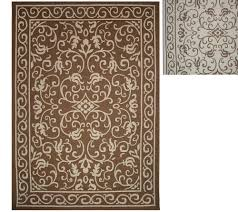 Cheap Outdoor Rugs 5x7 Veranda Living Indoor Outdoor Reversible 5 X 7 Scroll Rug Page 1