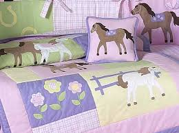 Girls Horse Bedding Set by Horse Baby Bedding Sets Only 189 99