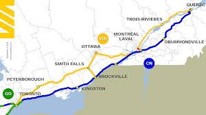 Canada Rail Map by Via Rail Page 122 Urbantoronto