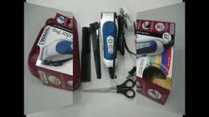 wahl 79300 400 color pro 20 piece complete haircutting kit youtube