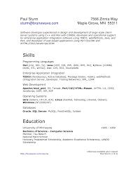 Java Resumes Development Sample Resume For Fresher Software Engineer Fresher
