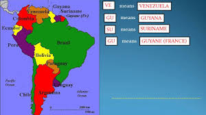 South America Map And Capitals by How To Remember World Map Part 1 South American Countries Youtube
