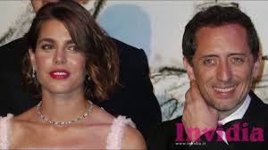 Gad Elmaleh  right  and Charlotte Casiraghi  the daughter of the princess of Monaco