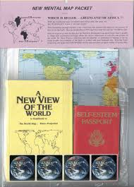 Peters Projection World Map by The Peters Map Retail Page Odt