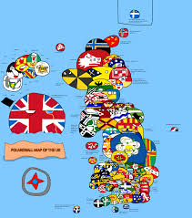 Map Of Ireland And England Polandball Map Of The Uk Polandball