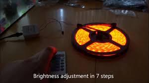 Led Lights For Bedroom Led Strip Bedroom Lighting Youtube