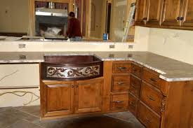Farm Sink Kitchen Med Rounded Front 2 Tone Sink Copper Sinks Online