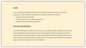 Sample Of A Resume Resume Summary Example Berathen Com