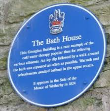 Design House Uk Wetherby Bath House Wharfedale Lawns Wetherby W Yorks Uk Blue Plaques