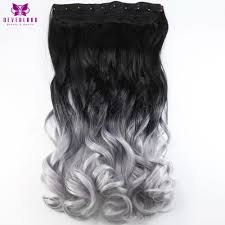 Grey Human Hair Extensions by Compare Prices On Silver Grey Hair Extensions Clip Online