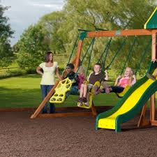 Cedar Playsets Best Wooden Playsets The Backyard Site
