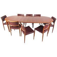 Mid Century Modern Dining Room Tables Mid Century Modern Danish Teak Dining Set With Model 80 N O