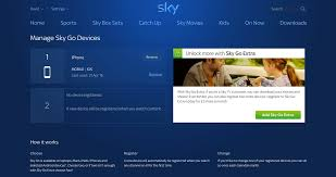 how to add remove and change devices on sky go expert reviews
