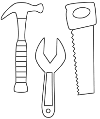 construction coloring pages free printables eson me