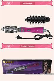 aliexpress com buy kemei auto rotation hair curler set wand