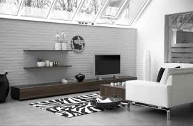 ikea wall shelves around tv for cozy warm living room decorating