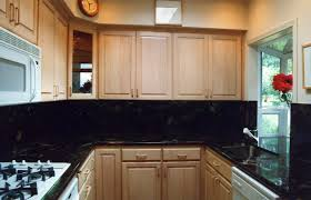 kitchen kitchen backsplash ideas black granite countertops tv