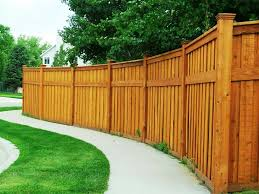 wood fence designs for front yards
