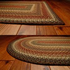 Capel Rug Sale Decorating Brown And Orange Braided Rugs In Oval And Rectangle Shapes