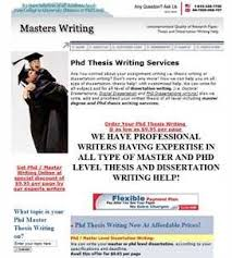 thesis writing online FAMU Online