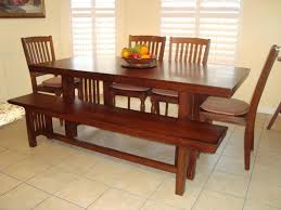 luxury dining table with bench fashionable dining table with back to fashionable dining table with bench