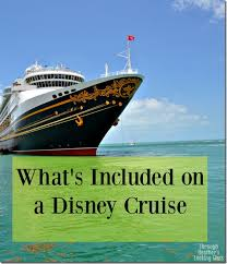 Whats Included What U0027s Included In A Disney Cruise