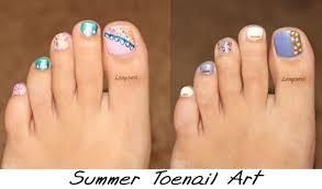 2 easy summer toe nail art designs youtube