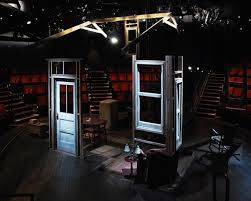 Arthur Miller     s Death of a Salesman in the round  Awesome