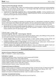 Civil Engineering Resume Samples by Professional Engineer Sample Resume 20 Civil Engineer Resume